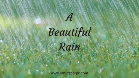 A poem on rain by Ranjit George