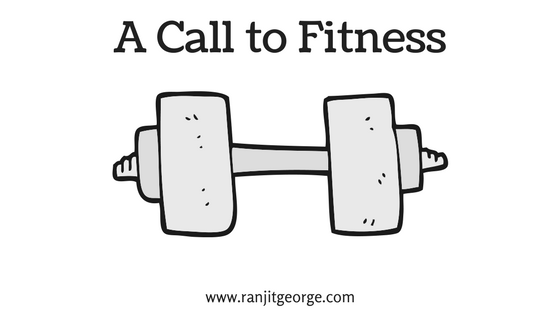 A poem on fitness by Ranjit George